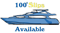 100 foot slips available in the Port of Los Angeles - call today 310-834-2830