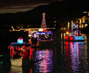 Los Angeles holiday boat parade